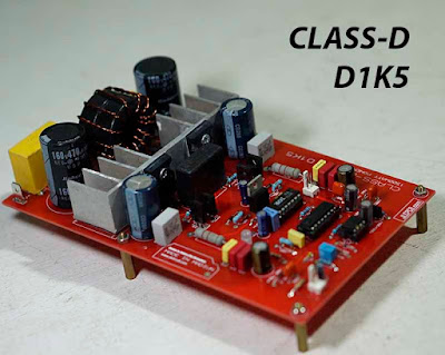 High Power Amplifier Class-D Circuit
