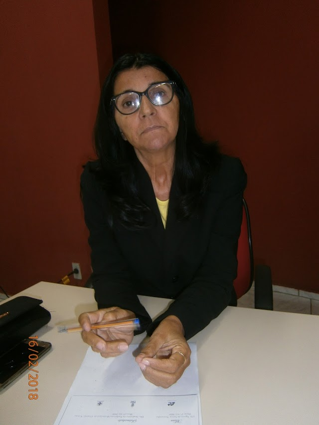 """Vereadora Elizeth Cavalcante confirma ser autora de projeto que prevê instalações de câmeras de segurança em Elesbão Veloso: """"foi reivindicação minha"""""""