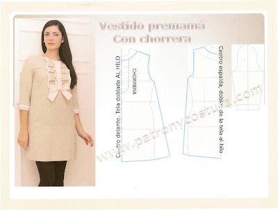 www.patronycostura.com/vestidopre-mamáconchorrera