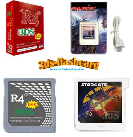 Breaking News: R4i B9S support Nintendo 3ds games with