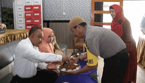 Kasat Reskrim Polres Padangsidimpuan Akhirnya Bisa Berangkat Haji