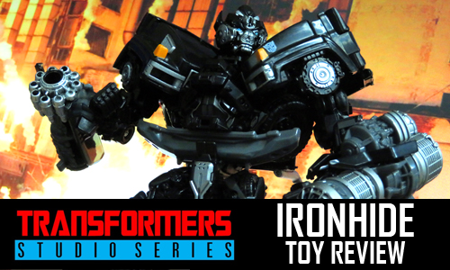 Transformers Studio Series Ironhide Toy Review