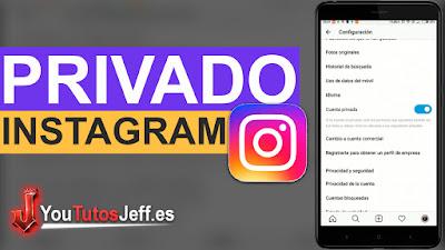 perfil privado de instagram