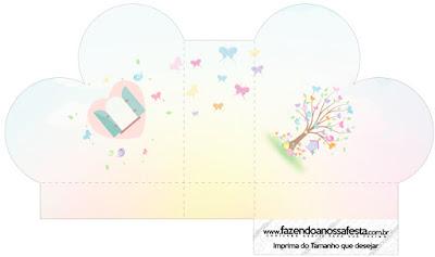 Jardín de Mariposas: Cajas para Bodas para Imprimir Gratis.