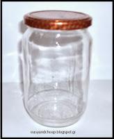 Πώς αποστειρώνουμε γυάλινα βάζα ή δοχεία;