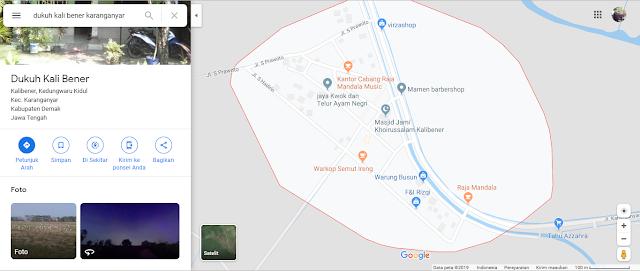 pocong google maps karanganyar