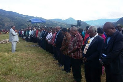 Tokoh Gereja Papua Ampuni Pembakar Alkitab