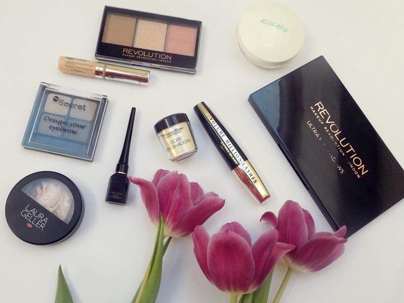 Moje ulubione kosmetyki do makijażu :)