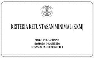 Keriteria Ketuntasan Minimal (KKM) KTSP untuk SD/MI Lengkap Kelas I - VI