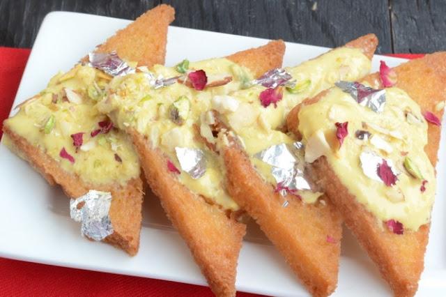 शाही मक्खनी ब्रेड बनाने की विधि | Shahi Makhni Bread Recipe in Hindi