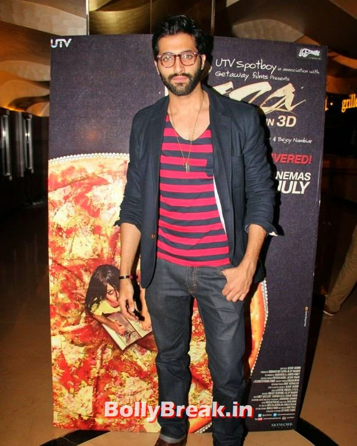 Akshay Oberoi, Dipannita Sharma, Parvathy Omanakuttan Pizza Movie Screening Pics