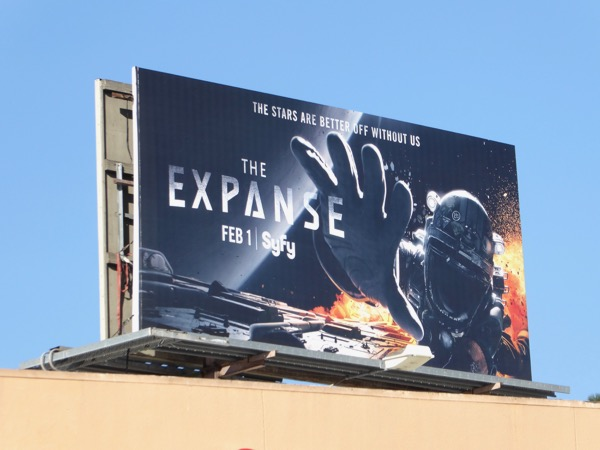 Expanse season 2 billboard