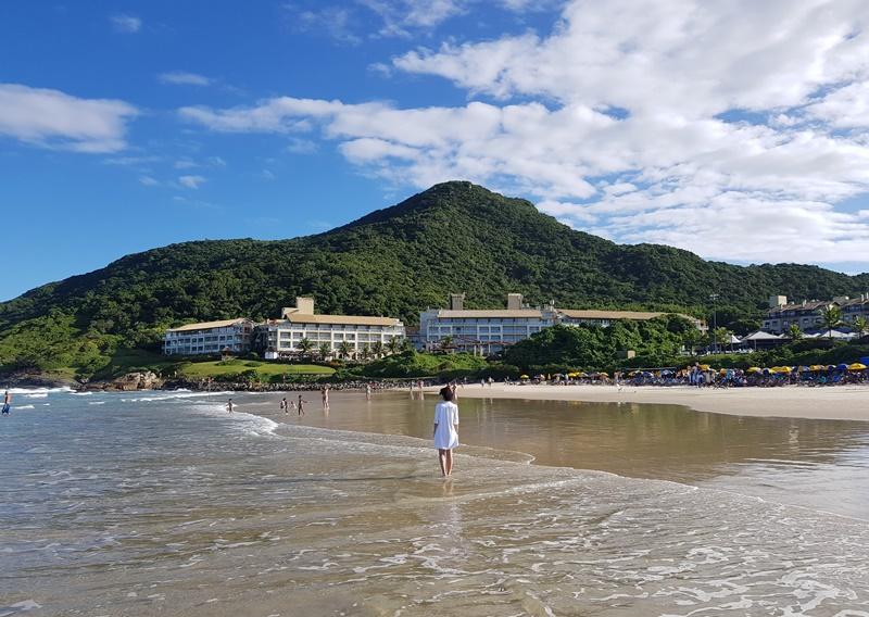 Melhor praia para ficar em Florianópolis