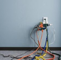 using extension cords