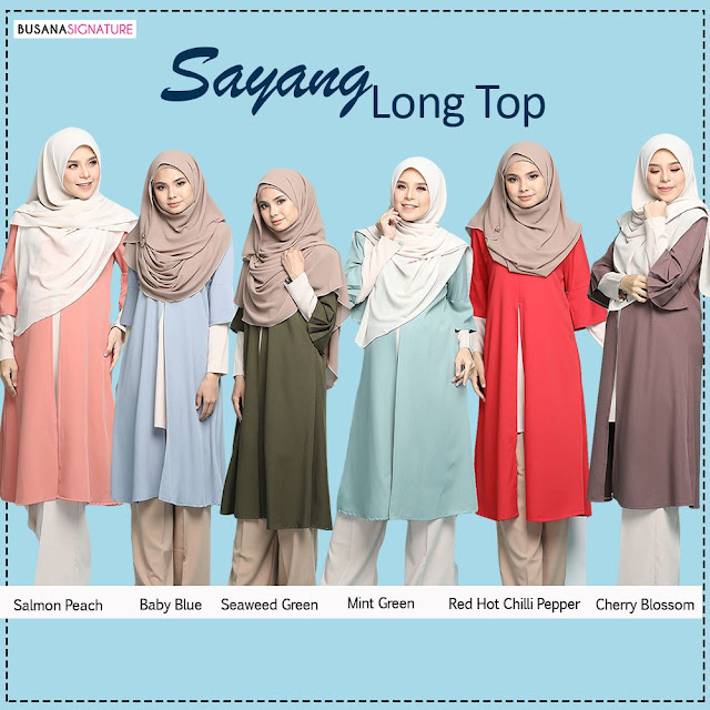 Sayang Long Top