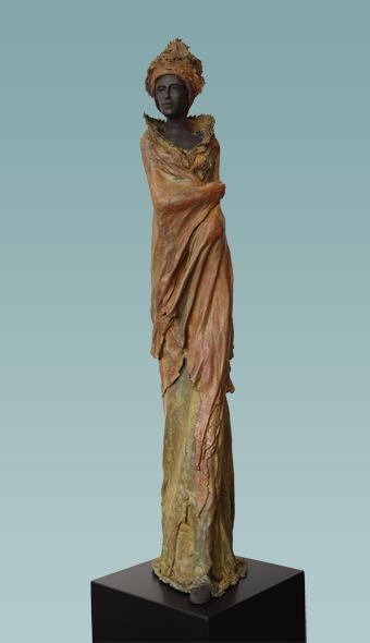 "Kieta Nuij - ""Sara"" | imagenes de obras de arte contemporaneo tristes, esculturas bellas chidas | figurative art, sculptures | kunst"