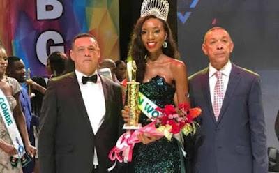 Anita Ukah wins Most Beautiful Girl in Nigeria 2018