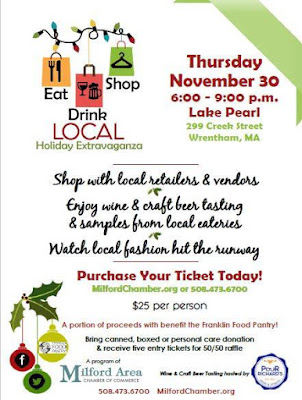 Eat, Drink and Shop Local Holiday Extravaganza - Nov 30