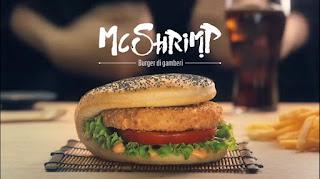 Canzone Pubblicità McDonald's  McShrimp e McCharolais Giapponese e Francese Giugno 2016