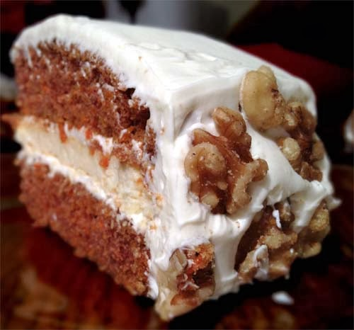 Cheesecake-stuffed Carrot Cake Recipe