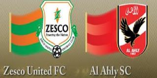 شاهد مباراة الاهلى ضد زيسكو فى دورى ابطال افريقيا | الجولة الخامسة