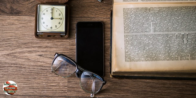 "Featured in the article: ""7 Ways To Memorize Large Amounts Of Information In Short Time"". Choose a Good Time for You. time to study or memorize. Clock, glasses, phone and book."