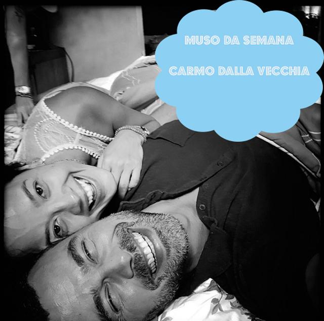Carmo Dalla Vecchia, o César em A Regra do Jogo, é o muso da semana (foto: Instagram/reprodução)