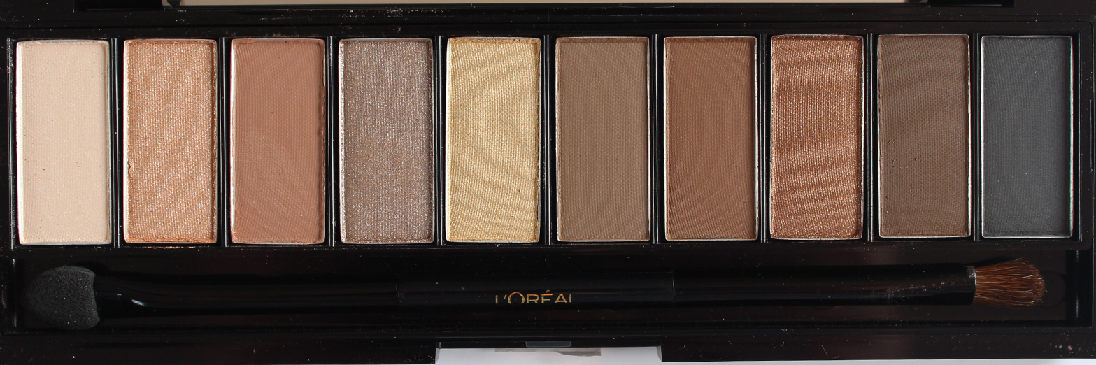 L'OREAL PARIS | La Palette Nude 01 Rose + 02 Beige - Review + Swatches - CassandraMyee