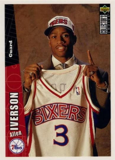 official photos 117bb 55b7e Tru School Sports: Allen Iverson Rookie Card