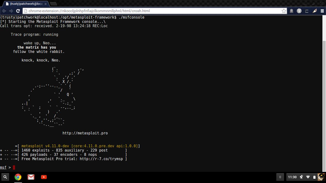 Dump3r: Crouton - Chromium OS Universal Chroot Environment