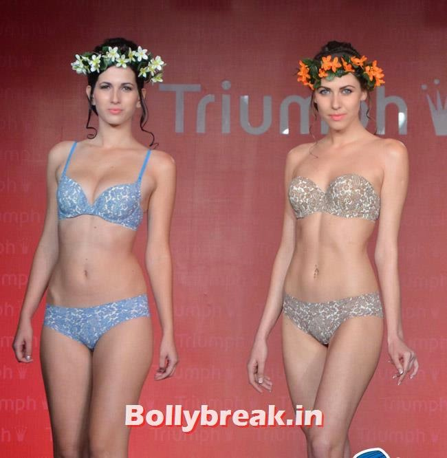 Triumph Fashion Show 2014, India Bikini Fashion Show 2014 - Triumph