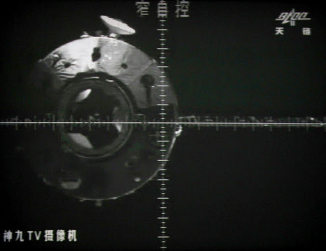 Chinese space lab plunges back to Earth