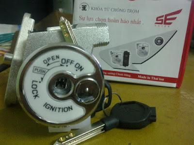 Thay ổ khóa xe máy ở đâu uy tín có bảo hành dài hạn.
