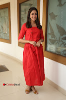 Actress Lavanya Tripathi Latest Pos in Red Dress at Radha Movie Success Meet .COM 0192.JPG