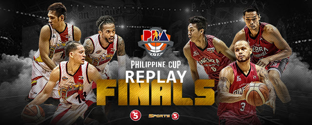 List of Replay Videos SMB vs Ginebra Game 3 March 1, 2017 @ Smart Araneta Coliseum