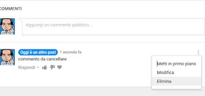 Come eliminare un commento su Youtube