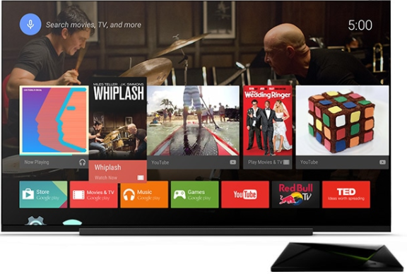 Android Powered Television