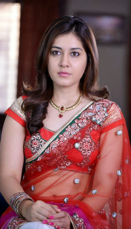 Actress Hd Gallery Rashi Kanna Saree Transparent Hd -1680