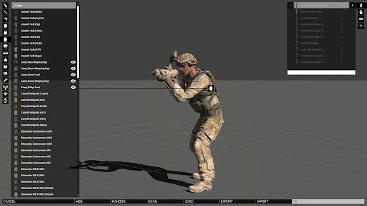 Arma 3 Eden エディタの特徴