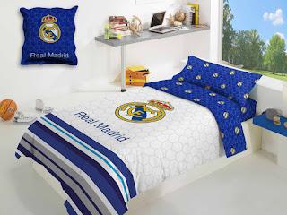 Set Funda Nórdica Estadio Manterol. Colección Real Madrid Classic