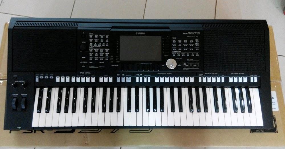 keyboard yamaha psr s975 central musik. Black Bedroom Furniture Sets. Home Design Ideas