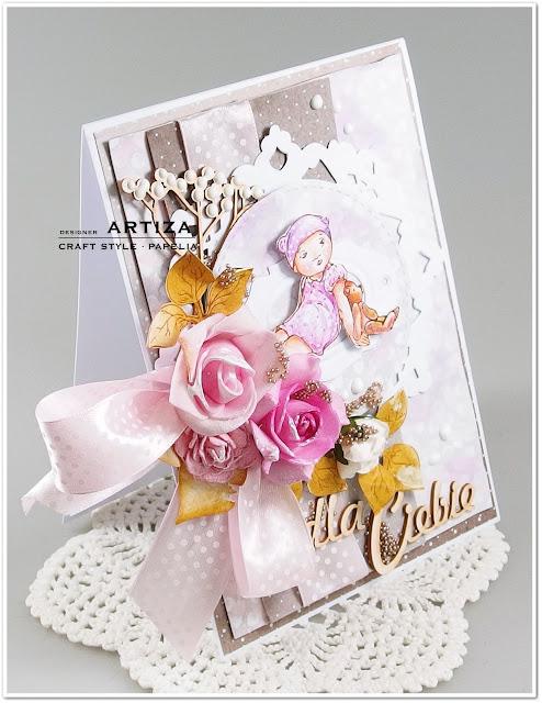 Dla Ciebie...kartka ze stemplem:)