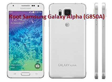 How To Root AT&T Galaxy Alpha (G850A) With KingRoot