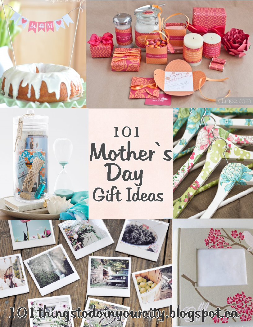 101 Things to Do...: Mother's Day Ideas
