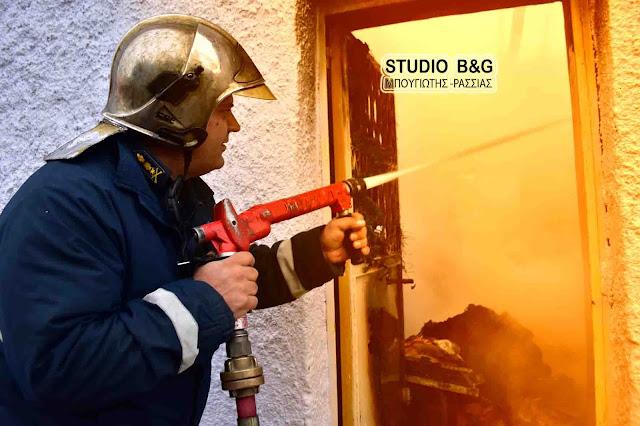 Τραγωδία με έναν νεκρό από πυρκαγιά σε σπίτι στη Μονεμβασιά