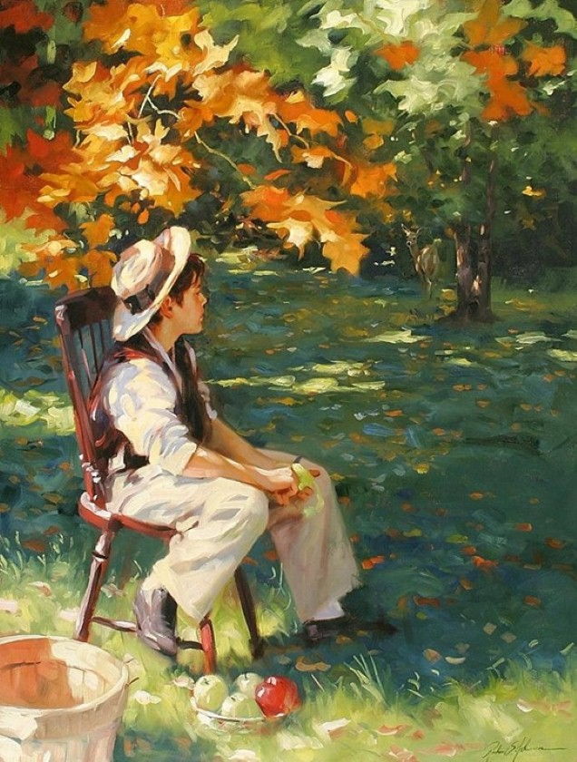 Rosanne Pomerleau. Современная художница из Канады 9