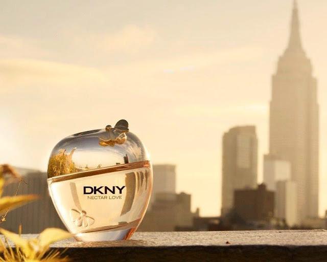 DKNY Nectar Love - oficjalne zdjęcie promujące perfumy