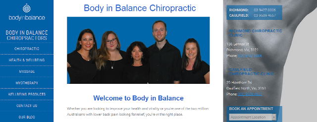 leading chiropractic clinic in Victoria