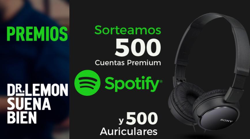 Gana cuentas Spotify Premium