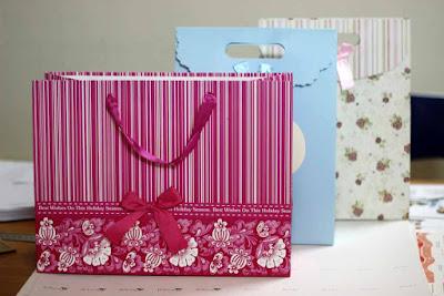 in túi giấy đựng quà